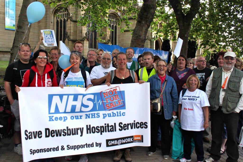 Walk 4 NHS reaches Wakefield