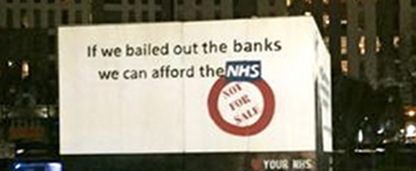 Bail banks afford NHS