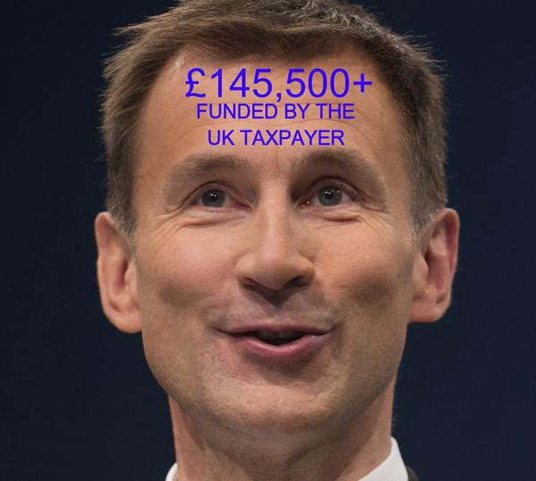 Hunt funded by taxpayer
