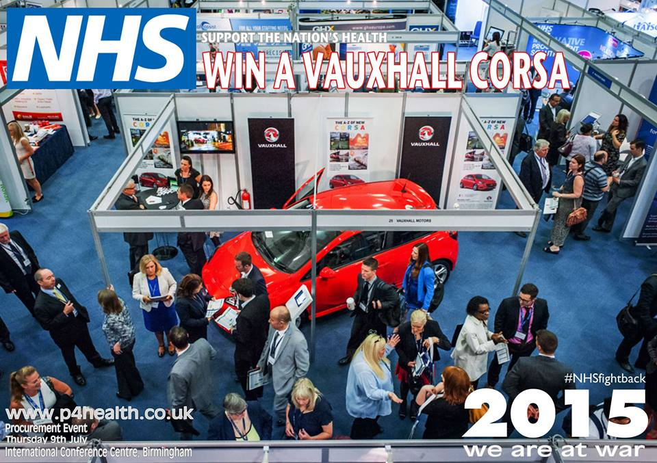 Support the Nations Health win a vauxhall corsa_n