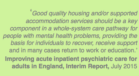 Improving acute inpatient psychiatric care