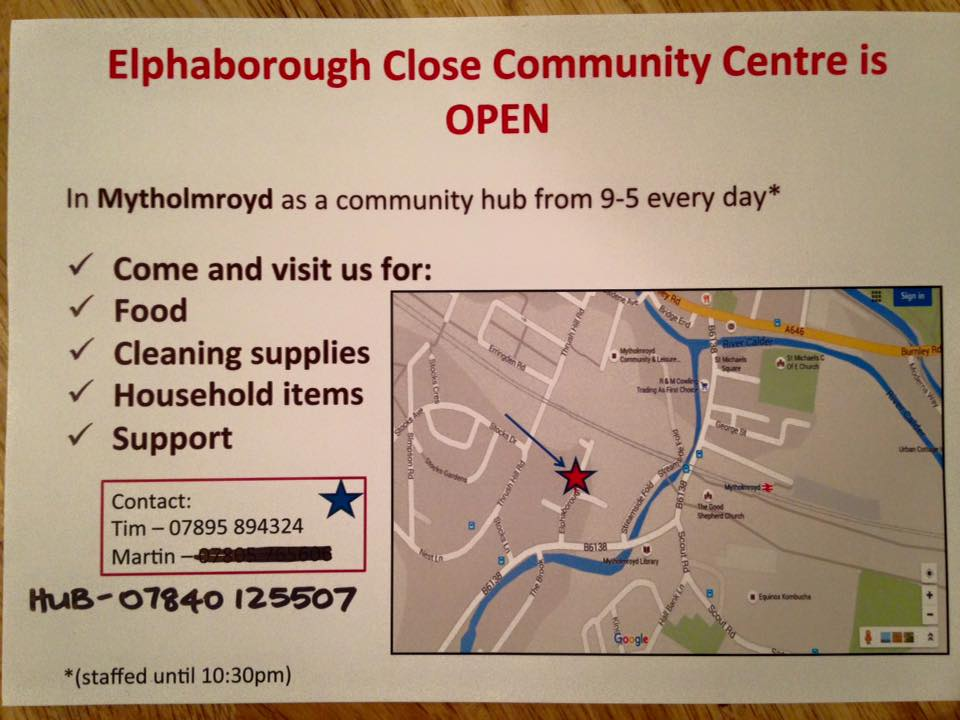 Elphaborough Community Centre info