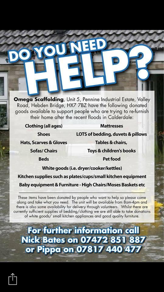 Omega scaffolding help