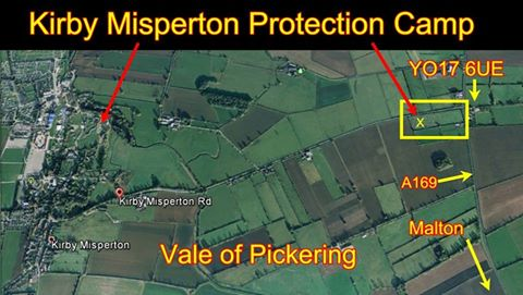 Kirkby Misperton Protection Camp
